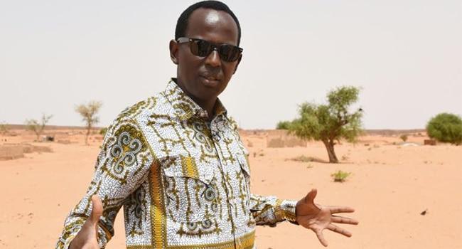 Mamane, Ambassadeur de bonne volonté auprès de la Commission climat pour le Sahel