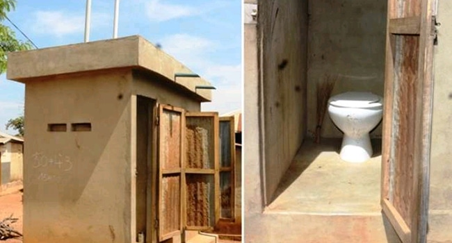 toitelle latrine togo